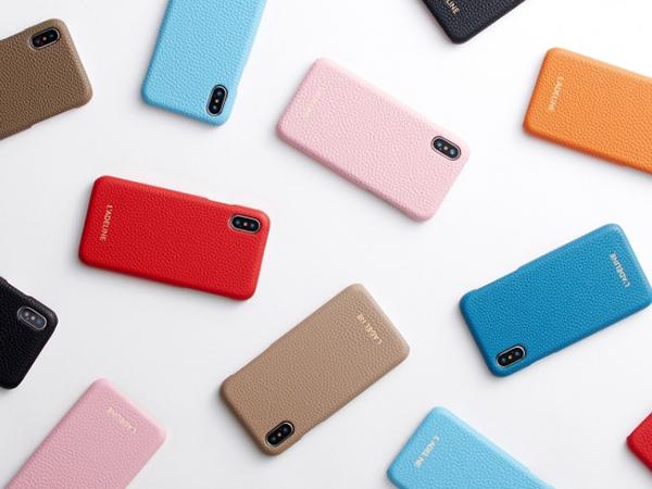カスタムレザーグッズのNEWブランド「L'ADELINE」からiPhoneケースが登場♩