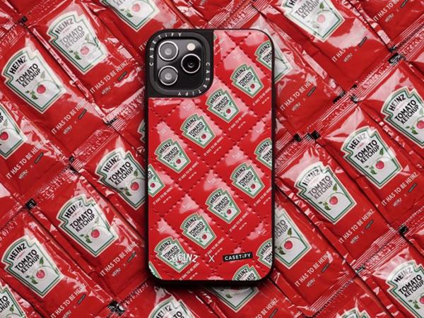 CASETiFYの次なるコラボ相手はケチャップの「HEINZ」!あの有名パッケージがiPhoneケースに