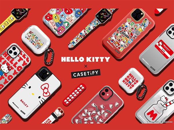 キュートすぎて見過ごせない!「Hello Kitty×CASETiFY」コラボテックアクセサリーが日本上陸です♡