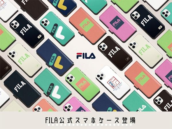 ロゴデザインがポップでかわいい♡「FILA」公式スマホケースが、20種類の新デザインで登場です