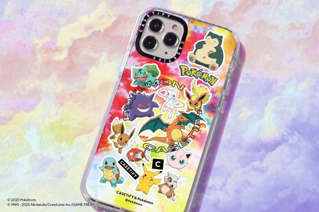 「CASETiFY&Pokémon」コラボが再び!今度は90年代をテーマにしたコレクションが登場♩
