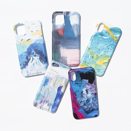 色の重なりや交わりが美しい♡アーティスティックな世界観のiPhoneケースが「ミツカルストア」にて販売中です