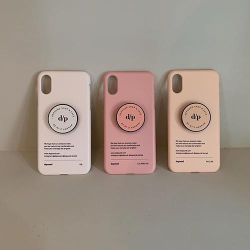 「depound」の新ショップ「BE MY D」から胸キュンカラーのiPhoneケースが登場!お揃グリップも要チェック♡