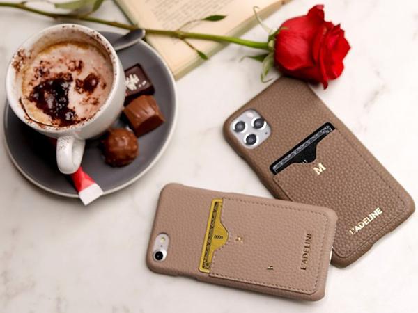 人気のレザーiPhoneケースブランド「ラデリンヌ」に、新しくカードケース付きデザインが仲間入り♡