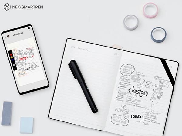 1万円以下でスマートペンとノートが揃っちゃう◎日常使いにぴったりな「Neo smartpen dimo」が登場。