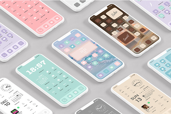 統一感あるiPhoneホーム画面を手軽に楽しむなら、アイコンや壁紙がセットになった「AZ-icon」が便利なんです