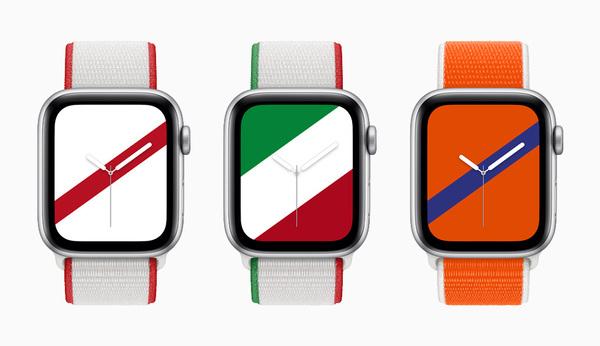 日本はどんなデザイン?世界22ヵ国のナショナルカラーをイメージした、AppleWatch限定バンドが登場