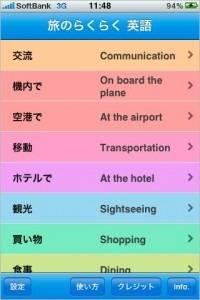 旅のらくらく 英語