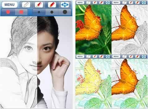 Fast Sketch あなたの写真が絵画に変わる 画像加工アプリ Isuta