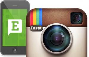 Instagram to evernote