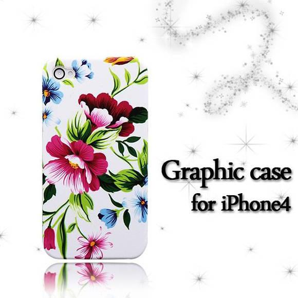 iPhone4S/4 ハードケース グラフィックケース 柄