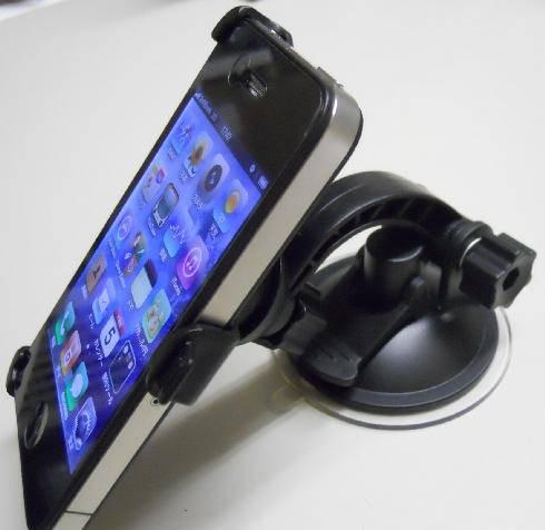 iPhone4専用 カーマウントホルダー(ウィンドウ装着タイプ)