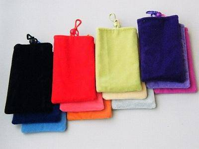 【メール便可】iPhone4 ケース touch 2nd/3rd & iPhone 3G/3GS 巾着ケース(12色)多様用途タイプ