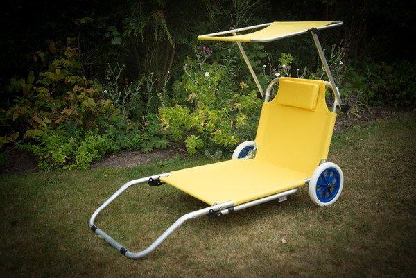Lemon Sun Lounger Trolley