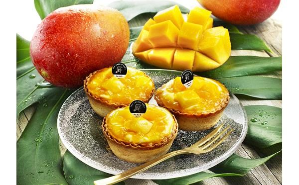 贅沢過ぎる!パブロがマンゴーをたっぷり使ったミニタルトを発売