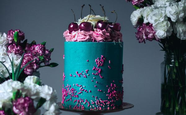 あまりの美しさにうっとり…♡アートのようなデコレーションケーキがステキ