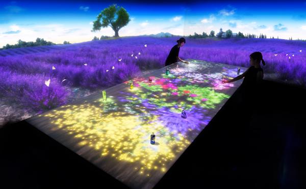 ロクシタンがチームラボとコラボ!新宿店が花と香りにあふれたデジタル空間に♡