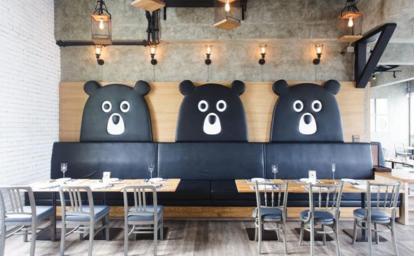 テーマはテディベア工場♡クマさんがいっぱいのタイのレストランに行ってみたい!