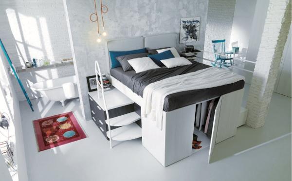 これは欲しい!ウォークインクローゼット内蔵のベッドが便利すぎる