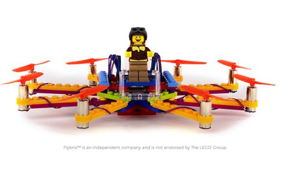 レゴをドローンに変身させるキットがカッコイイ!しかもスマホで簡単操作可能♪