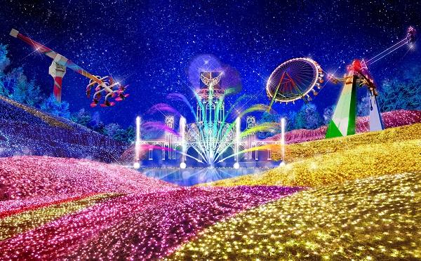 今年はなんと600万球!関東最大級のイルミネーション「さがみ湖イルミリオン」が美しすぎる