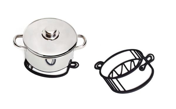 これは欲しい!どこからどう見てもイラストにしか見えない「鍋敷き」がキュート