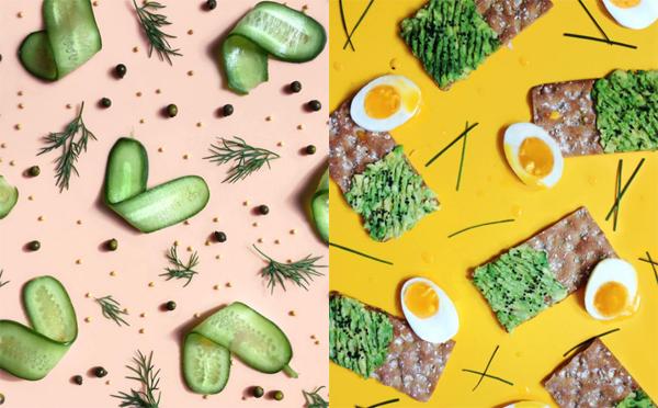 ポップで可愛い♡野菜や果物をテキスタイル風にアレンジしたインスタアカウントが人気