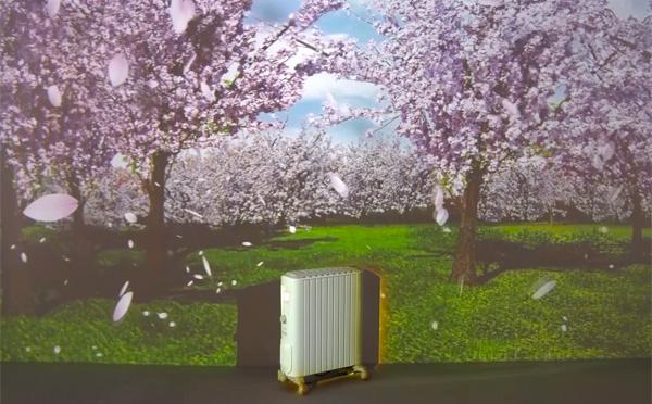 寒空の六本木に桜が…♡NAKEDのプロジェクションマッピングがミッドタウンに出現