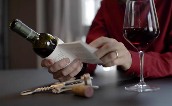 赤ワインは情熱のラブストーリー♡ラベルで小説が読めるワインがオシャレ!