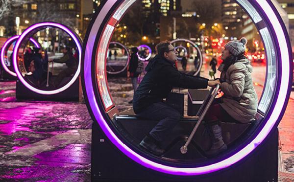 おとぎ話がクルクル回る♪夢溢れるインスタレーションがモントリオールで人気