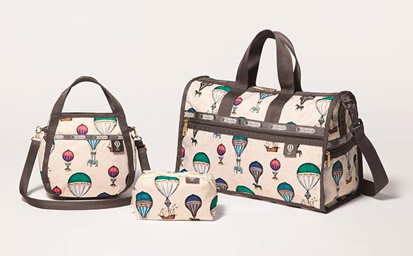 旅行にもっていきたい♡人気スタイリスト風間ゆみえ×レスポの新作バッグがかわいすぎる