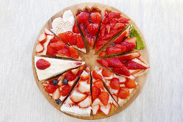 キルフェボン「ストロベリーWeek」開催!全11種類のいちごタルトを食べ比べてみた♡