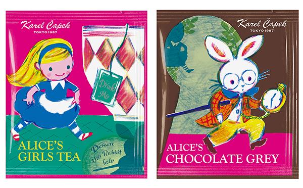 アリスモチーフのパッケージが可愛い♡カレルチャペック紅茶店の新作はバレンタインにもおすすめ