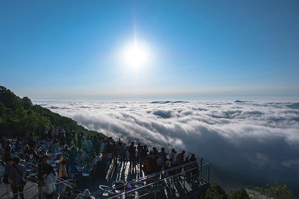 【トマム】雲海テラス_太平洋産雲海