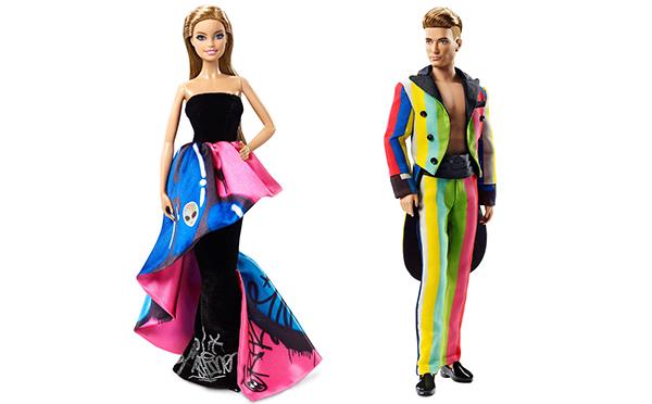 大胆なファッションに目が釘付け!「モスキーノ」とのコラボバービーが伊勢丹限定で発売