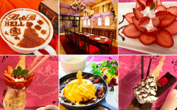 童話の世界でバレンタイン♡「美女と野獣カフェ」2月の限定メニューがフォトジェニックすぎ♪ - isuta[イスタ] - おしゃれ、かわいい、しあわせ