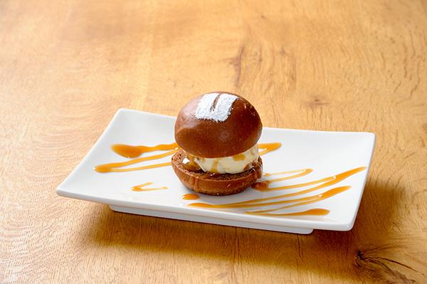 CHOCOLATE-SLIDER-CARAMEL-SAUCE(チョコレートスライダー-キャラメルソース)