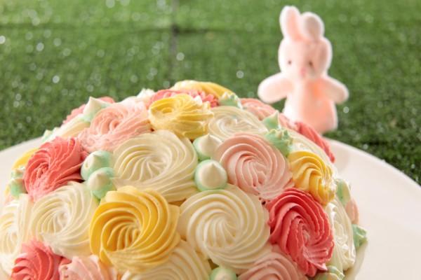 花束ショートケーキ_2