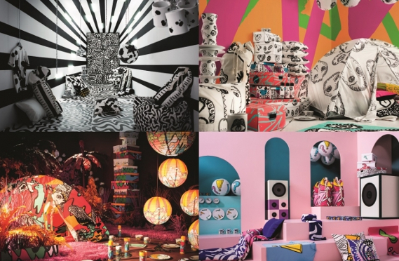 アヴァンギャルドな色柄がクリエイティビティを刺激!イケアの最新コレクションがクール☆