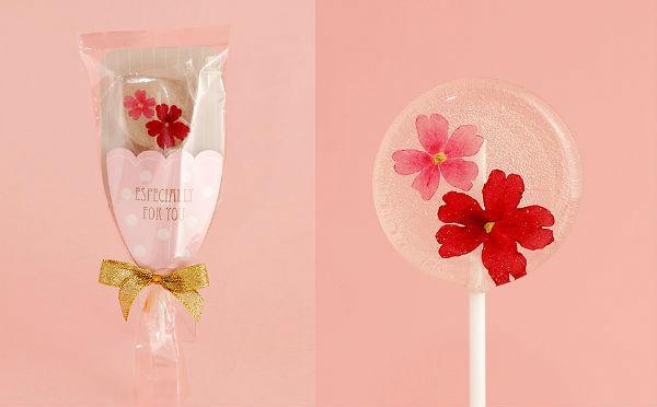 プチプラなのもうれしい♪本物のお花を閉じ込めた「ロリポップキャンディ」がかわいすぎる♡
