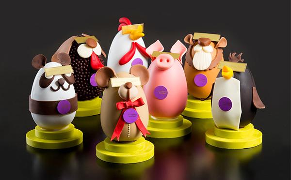 遊び心に思わずクスリ♡動物たちのイースターエッグが飾っておきたくなる可愛さ