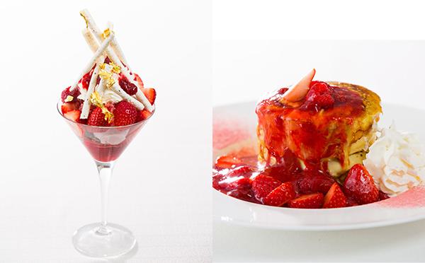 ごろごろ苺がたまらない♡ホテルで味わう極上苺パフェ&パンケーキに注目!
