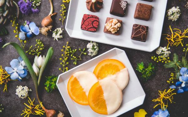 オレンジ×ホワイトチョコ「デカダンス ドュ ショコラ」期間限定ショコラがオシャレ♡
