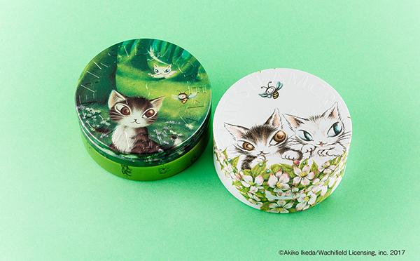 猫のダヤンが美しい…!「スチームクリーム×わちふぃーるど」限定デザイン缶に癒される☆