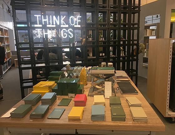 ダガヤサンドウの新おしゃスポット!コクヨのライフスタイルショップ&カフェ「THINK OF THINGS」のご紹介♩