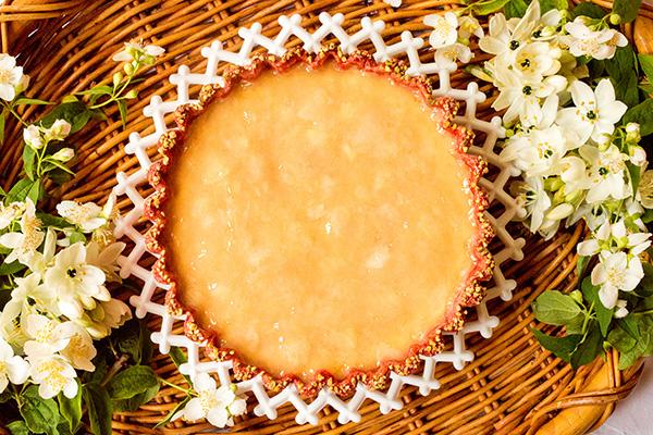 1271_ベイクドチーズと桃のコンポートタルト_t_tr