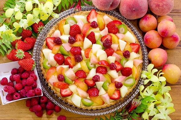 0820_桃と夏の果実のタルト_t_tr