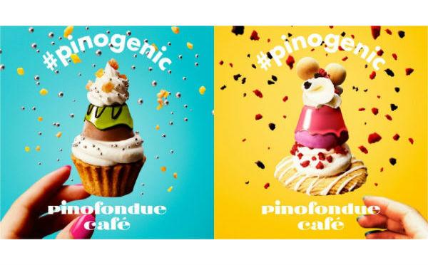 フォトジェニックな「ピノ」が作れちゃう期間限定『pinofondue café』が原宿&梅田にオープン♡