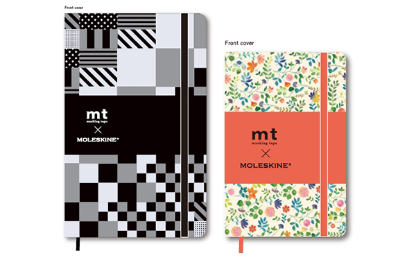 持っているだけで絵になる♡「モレスキン×mt」コラボのノートがロフト限定で登場!