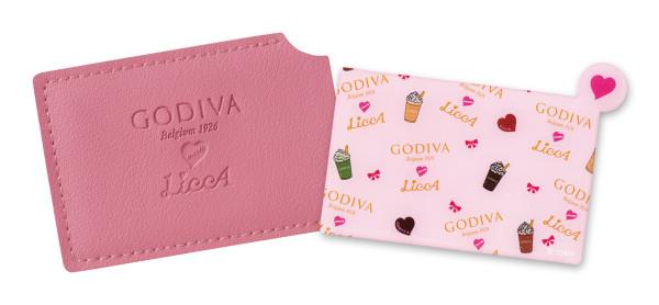 GODIVA-meets-LiccAオリジナルカードミラー